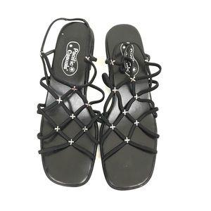 Pacific Casuals   90's vibes block heel sandals